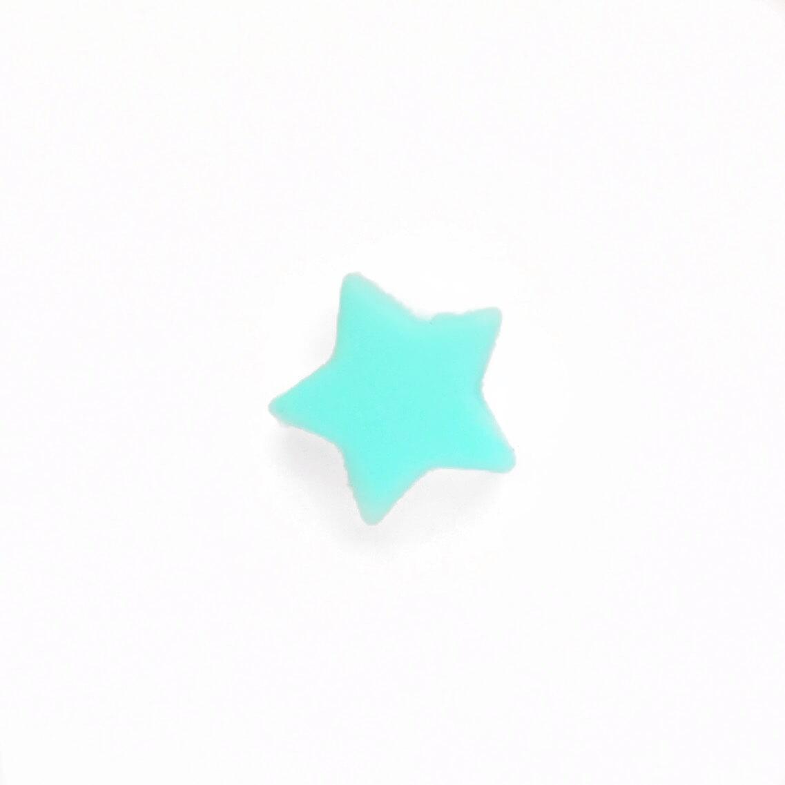Мини звездочка (тиффани) бусина из пищевого силикона