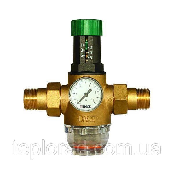 """Редуктор давления мембранный Herz DN25 1"""" (1268213) для холодной воды"""