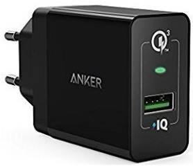 Зарядное устройство PowerPort+1 QC3.0& PIQ+MicroUSB V3(Black), фото 2