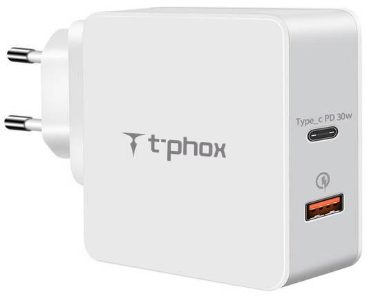 Зарядное устройство 48W Fast Charge-TYPE-C PD 30W+QC3.0 18W (White), фото 2