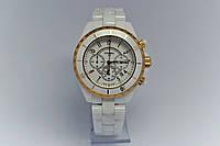 Наручные женские Часы Chanel J12 Chronograph white