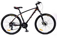 Горный велосипед Benetti ALTO DD 26'' черно-оранжевый ХАРДТЕЙЛ
