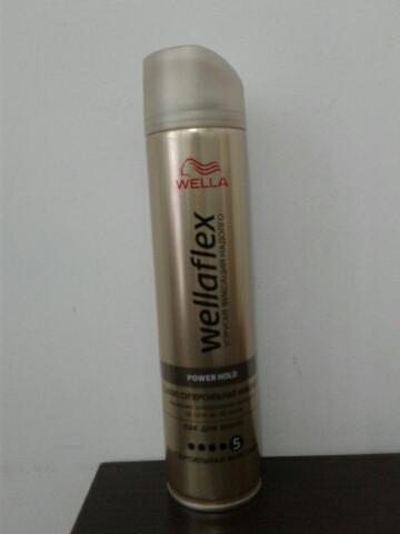 Лак для волос Wellaflex 250 мл. (Велла Упругая фиксация №5 )
