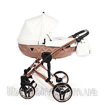 Дитяча універсальна коляска 2 в 1 Junama Mirror Satin 05
