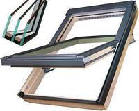 Дахове вікно Fakro FTS-V U4 енергозберігаюче 78х118 з коміром