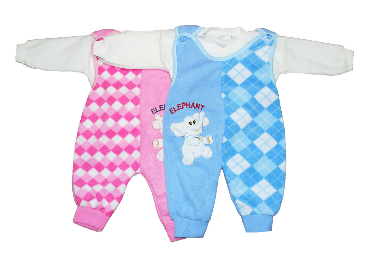 Костюм детский флисвый для новорожденных мальчика и девочки. Витамин №!