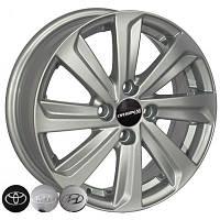 Литые диски Zorat Wheels BK736 R14 W5.5 PCD4x100 ET35 DIA67.1 S