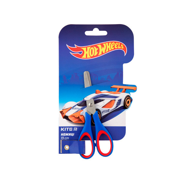 """Ножницы дет. """"Kite"""" HW19-123 """"Hot Wheels"""" 13см"""