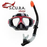 Набор для дайвинга (маска+трубка) Intex SURF-RIDER 55949, фото 1