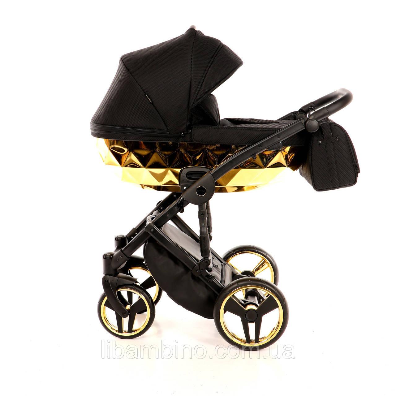 Дитяча універсальна коляска 2 в 1 Junama Mirror Gold