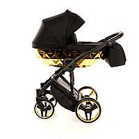 Дитяча універсальна коляска 2 в 1 Junama Mirror Gold, фото 1
