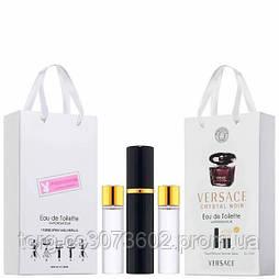 Мини-парфюм женский Versace Crystal Noir, 3х15 мл
