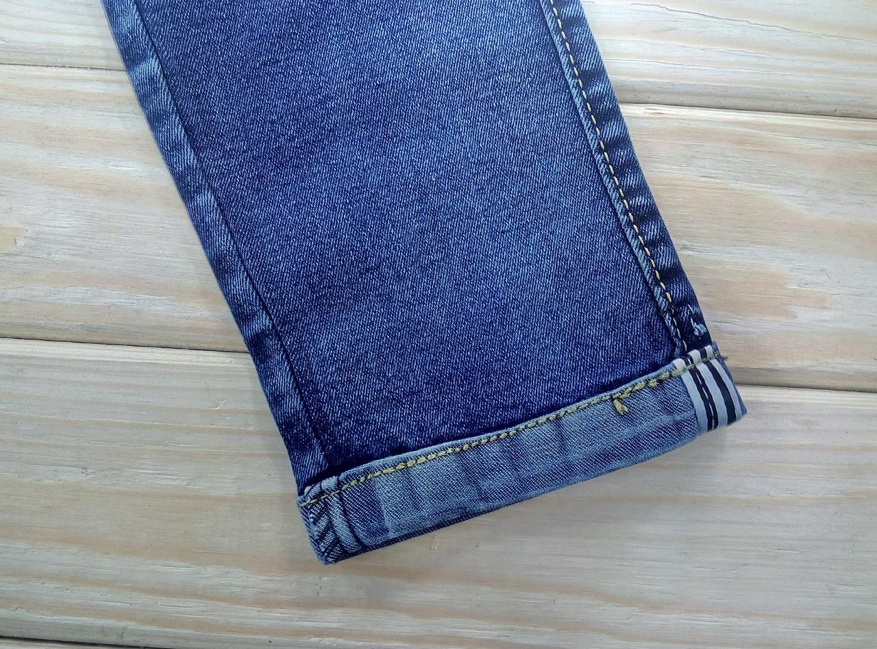 26fb509d914 Джинсы женские демисезон синие KENALIN на шнурке с карманами 3XL 32 ЛЖД -21163