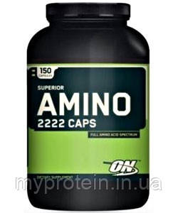 Optimum Nutrition Аминокислоты Amino 2222 (160 tabs)
