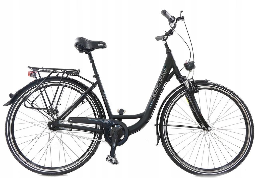 Велосипед міський Mifa Godewind 28 Nexus 7 Mat Black
