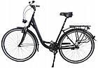 Велосипед міський Mifa Godewind 28 Nexus 7 Mat Black, фото 2