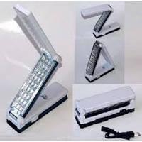 Лампа фонарь настольная 30+27 LED аккумуляторная