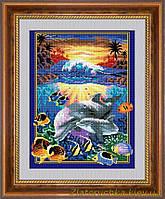 Набор для алмазной живописи Dream Art 30205 Подводный мир (квадратные, полная)