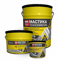 Мастика Техномаст №21 (20 кг) Битумные гидроизоляционные материалы