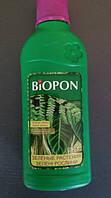 Биопон 250мл для зелених рослин мінеральне багатокомпонентне добриво, фото 1