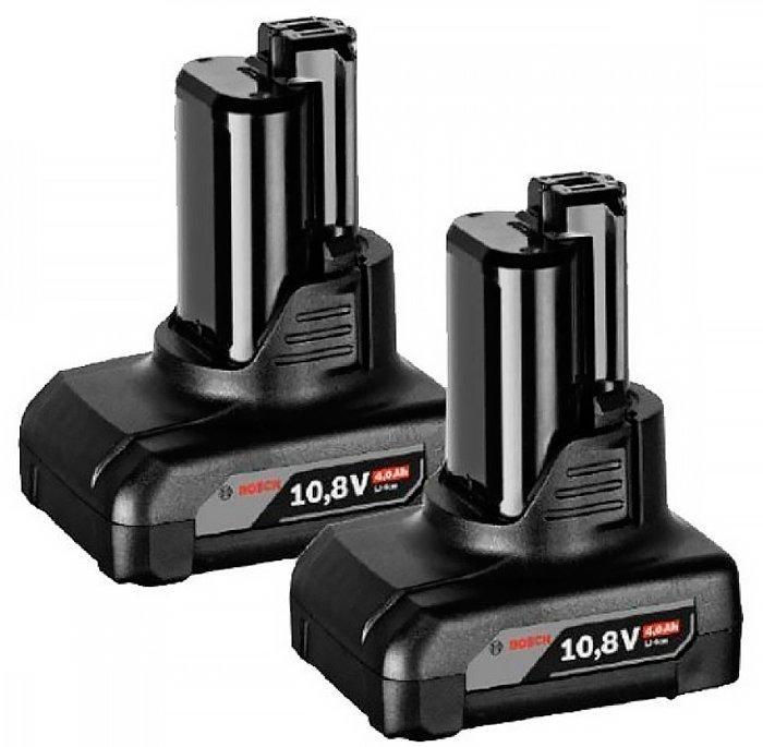 Аккумулятор Bosch GBA 12V 4.0Ah H, 2 шт (1600Z00045)