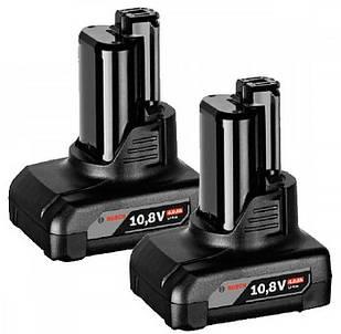 Акумулятор Bosch GBA 12V 4.0 H Ah, 2 шт (1600Z00045)