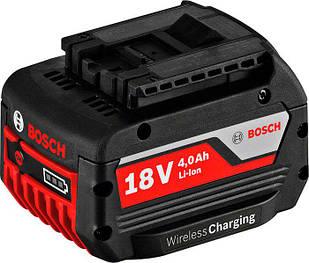 Акумулятор Bosch Professional GBA 18 V 4,0 Ah MW-C Wireless Charging (1600A00C42)