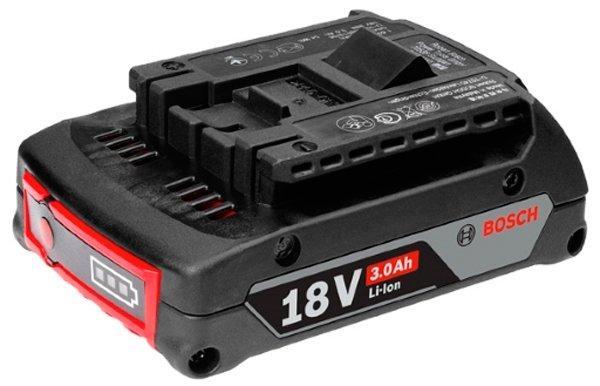 Аккумулятор Bosch Professional GBA 18V 3.0Ah (1600A012UV)