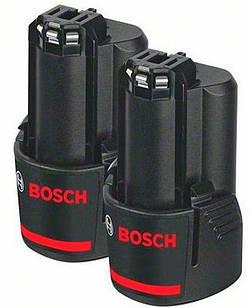 Акумулятор Bosch GBA Li-Ion 10,8 V 2 Ah, 2 шт (1600Z00040)