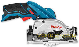 Аккумуляторная дисковая пила Bosch GKS 12V-26 без з/у и аккумуляторов (06016A1001)
