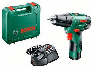 Аккумуляторная дрель-шуруповерт Bosch EasyDrill 12-2 + AL 1130 CV + 1x PBA 12V 2,5 Ah + чемодан (060397290V)