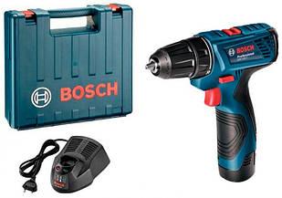 Акумуляторна дриль-шуруповерт Bosch GSR 120-LI + з/у AL 1115 CV + 1 x акб GBA 12V 1.5 Ah + валіза (06019F7000)