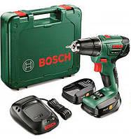 Аккумуляторная дрель-шуруповерт Bosch PSR 1440 LI-2 + AL 2215 CV + 2 акб PBA 14,4V 2,5Ah + чемодан (06039A3021)