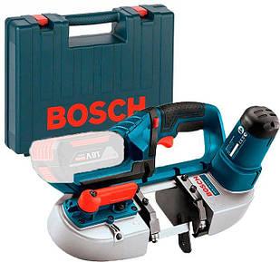 Аккумуляторная ленточная пила Bosch GCB 18 V Li без з/у и аккумуляторов + чемодан (06012A0300)