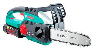 Аккумуляторная цепная пила Bosch AKE 30 LI (0600837100)