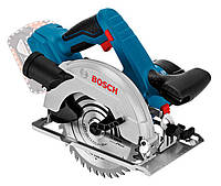Аккумуляторная циркулярная пила Bosch GKS 18V-57 без з/у и аккумуляторов (06016A2200)