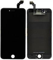 Дисплей (экран) для Apple iPhone 6 с сенсором (тачскрином) оригинал (Orig recondition) черный (black)