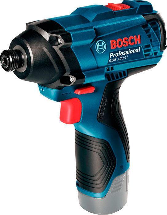 Аккумуляторный ударный гайковерт Bosch GDR 120-LI без з/у и аккумуляторов (06019F0000)