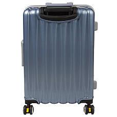 Чемодан BagHouse  пластиковый большой 4 колеса 43х61х30 кс325бгол, фото 3