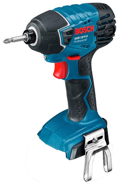Аккумуляторный ударный гайковерт Bosch Professional GDR 18 V-LI без з/у и аккумуляторов (06019A130F)