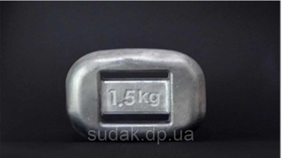 Вантаж анатомічний 1,5 кг