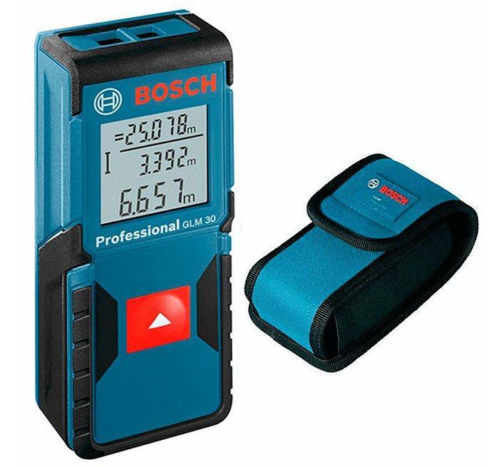 Дальномер лазерный Bosch GLM 30 + чехол (0601072500)