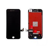 Дисплей (экран) для Apple iPhone 8 plus с сенсором (тачскрином) копия (AAA) черный (black)
