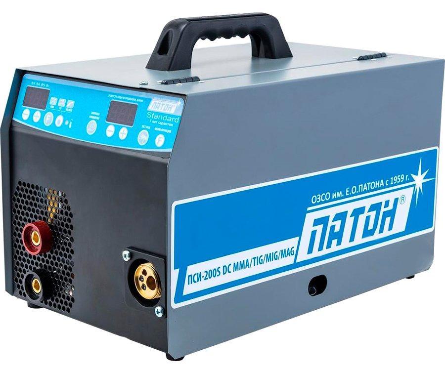 Инверторный цифровой полуавтомат Патон ПСИ-200S (5-2) DC (4005039)