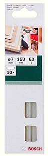Клеевые стержни Bosch 7150 мм, белые, 10 шт (2609256A03)