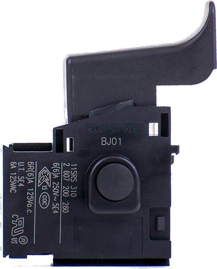 Кнопка для дрели, рубанка, шлифмашины Bosch (2607200260)