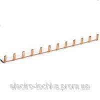 Шина з`єднувальна вилочна, 3-полюсна на 57 модулів, з ізоляцією, 10 мм2 Hager
