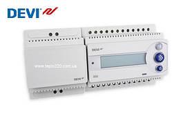 Devireg 850 ІV Регулятор для систем сніготанення і антизледеніння 2-зонний з датчиками вологості і температури
