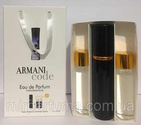 Женские мини духи Giorgio Armani Code Woman 45ml, фото 2