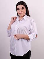 Рубашка Магда белый , фото 1